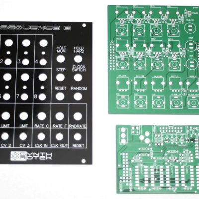 Synthrotek_Sequence_8_PCB_and_Panel